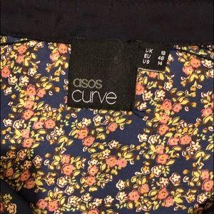 ASOS Curve Dresses - ASOS Silk print dress